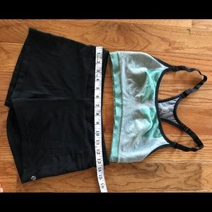Lululemon hot yoga top and bottom